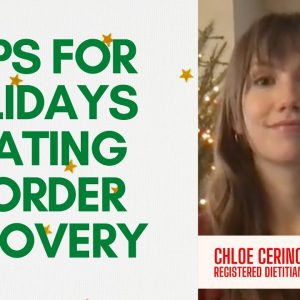 5 Tips for the Holidays in Eating Disorder Recovery